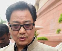 Chidambaram changed affidavit in Ishrat encounter killing case: Kiren Rijiju