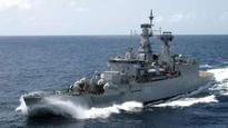 Navy warship INS Ganga decommissioned in Mumbai