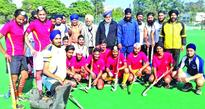 Zorawar Club, MBS win ties in Hockey
