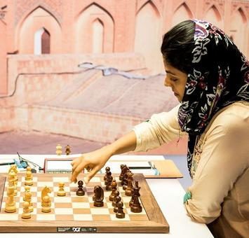 Harika closes in on semis at World Chess Championship