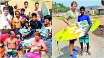 Surf is the new turf for Jonty Rhodes and other foreign cricketers