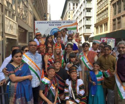 PHOTOS: Thousands celebrate at India Day Parade in New York