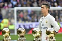 Ronaldo celebrates Ballon d'Or as record-equalling Madrid cruise
