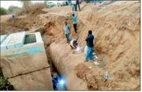 Firm blamed for Godavari pipe leak