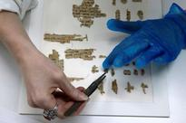 Israel says ancient papyrus supports its claim to Jerusalem