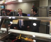 You need to see Boris Johnson struggle to make a sandwich in Subway