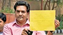 Mishra seeks help for 'Let's Clean AAP' project