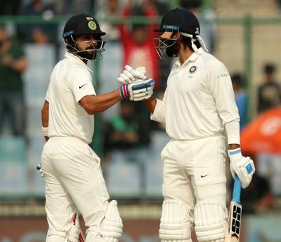 Record breaking Kohli, solid Vijay punish Sri Lanka