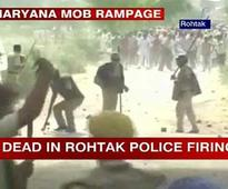 Rohtak: 3 killed, over 100 injured in clashes between villagers, police