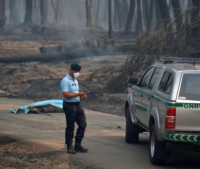 Massive Portugal forest fire kills 57