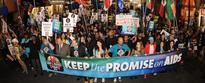 AHF's Keep The Promise Marches and Concerts Bring Out Celebrities, Thousands of HIV/AIDS Advocates for World AIDS Day