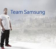 Samsung Electronics Levant Honors the Wrestler Yahya Abu Tabeekh