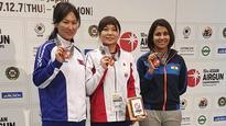 Asian Airgun Championships: India's Heena Sidhu, Jitu Rai win medals