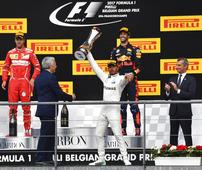 Hamilton wins Belgian GP in 200th race of F1 career