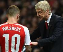 Wenger not surprised by Wilshere's Bournemout...