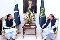AJK PM calls on PM Sharif; discusses development projects