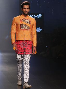 Mr World Rohit Khandelwal debuts at LFW