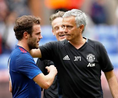Mata is a good player and he has space in the United squad: Mourinho