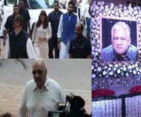Bollywood celebrities attend Om Puris prayer meet