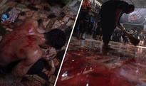 Shiite Muslims celebrate Ashura with self flagellation