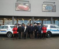 Regina officers packing SUVs with donations for Food Bank