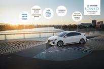 Hyundai Motor unveils self-driving Ioniq EV at LA auto show