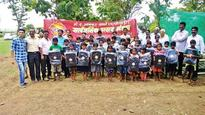 Late farmers' kids get edu assistance from city mandal