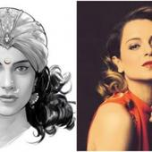 THIS picture of Kangana Ranaut's look for Rani Laxmibai biopic has gone VIRAL!