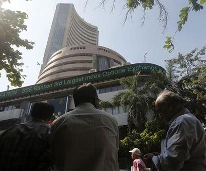 Sensex gains 86 points, Nifty ends above 9,100; aviation stocks fly high
