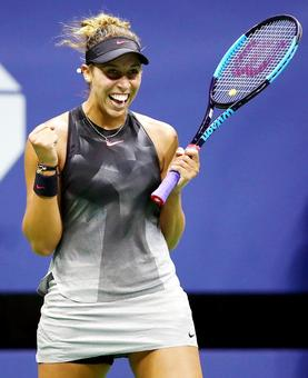 US Open PIX: Keys downs Kanepi to set up all-American semi-final
