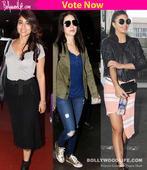 Shriya Saran, Sunny Leone, Jacqueline Fernandez  who rocked the airport look?