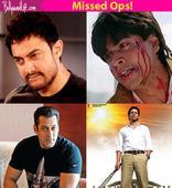 10 films Shah Rukh Khan, Salman Khan, Akshay Kumar might be regretting passing on to their competitors!
