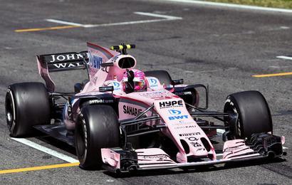 F1: Force India hit with strange sanction