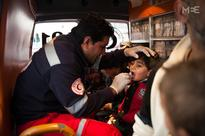 IN PICTURES: 48 hours with the Palestinian Red Crescent Society