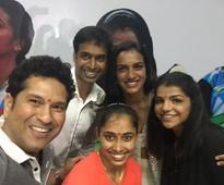 PV Sindhu, Sakshi Malik, Dipa Karmakar receive BMW cars, Sachin Tendulkar lauds trio