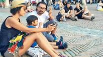Check pics: Aamir Khan takes a break from 'Thugs of Hindostan' and spends time with family!