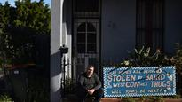 Sydney man received a letter about his home. It was not good news