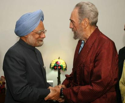 Nehru to Manmohan, Fidel shared warm relations with India's leaders