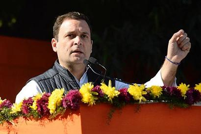 PM Modi robbed India: Rahul on PNB fraud