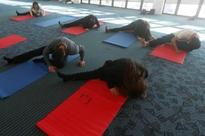 Chilean Airport Offers Passengers Free Yoga Classes
