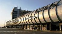 US parliamentary delegation arrives in Cairo Airport