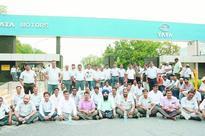 Marathon block at Tata Motors