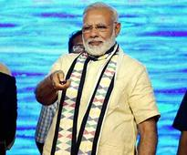Narendra Modi in Gujarat: PM wishes to build monument of Buddha in Aravalli