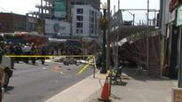 Baby's stroller was 'mangled' after Forest Hill structure collapse; Seven people sent to hospital
