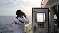 Five days on board a migrant rescue boat in the central Mediterranean