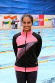 Team Speedo India's Damini Gowda participates in World School Championships