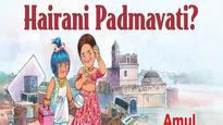 Like always, Amul has a unique take on the Padmavati row and we love it!