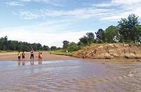 Flood scene improves