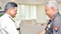 Engineer-in-Chief of Armed Forces in Vizag on Two-day Visit