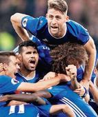 Chelsea stomp Mourinho's United 4-0 at the Bridge